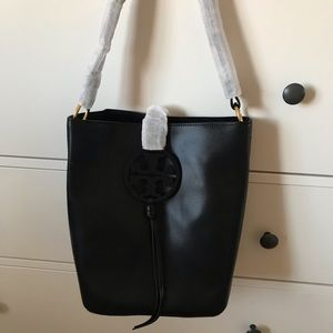 Tory Burch Leather Miller Hobo
